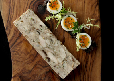 Chicken and Wild Mushroom Terrine