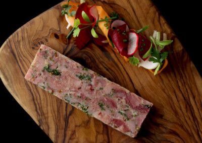 Ham Hock with Parsley and Mustard Terrine
