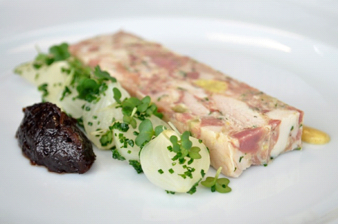 Chicken & Smoked Ham Hock Terrine
