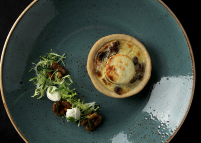 Fig & Goats Cheese Tartlet (V)