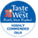 Taste of the West 2016 - Highly Commended