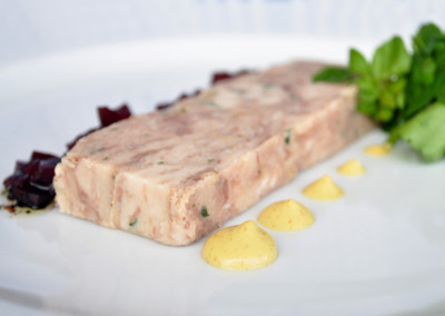 Cured Pork and Wild Boar Terrine