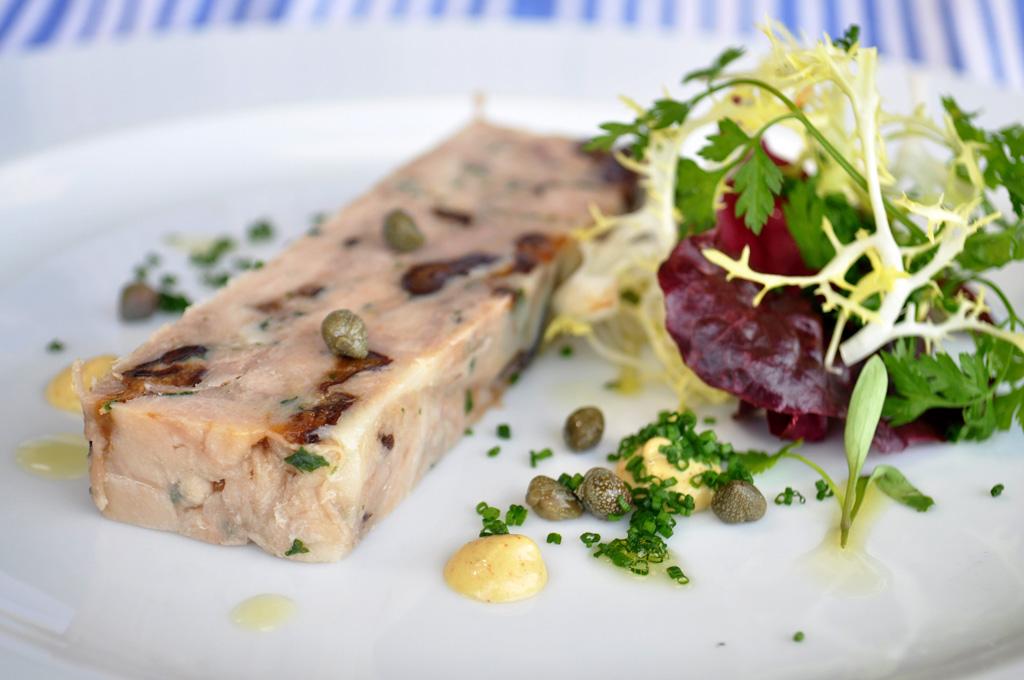Slow-Cooked Pork Belly & Prune Terrine