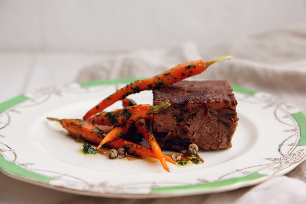 Pressed Beef with Caramelised Onion