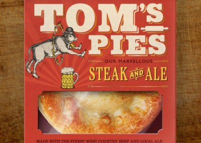Tom's Pies Steak & Ale