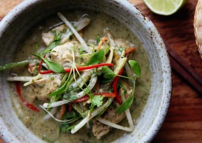 Green Thai Chicken Curry