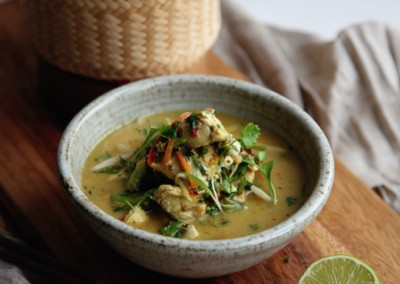 Yellow Thai Chicken Curry