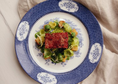 Pressed Pork with Fennel Seeds and Mustard