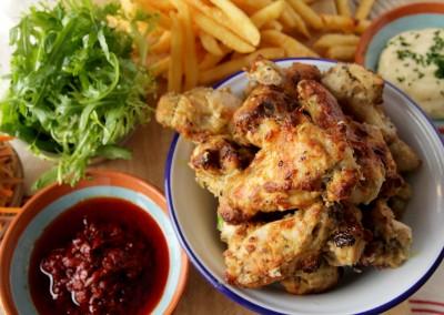 Lemon & Herb Chicken Wings