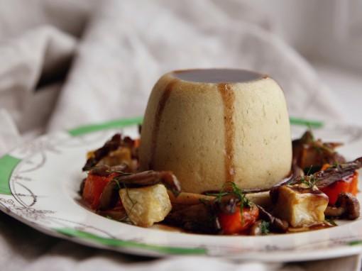 Venison & Chestnut Suet Pudding