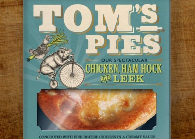 Tom's Pies Chicken, Ham Hock & Leek