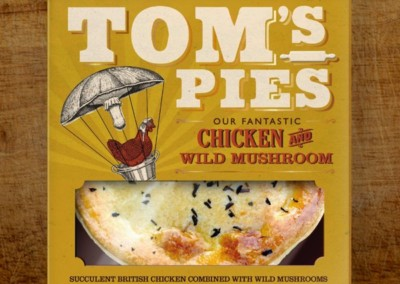 Tom's Pies Chicken and Wild Mushroom