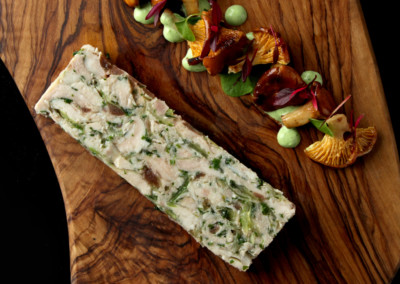 Chicken and Leek Terrine