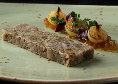 Duck and Fig Terrine
