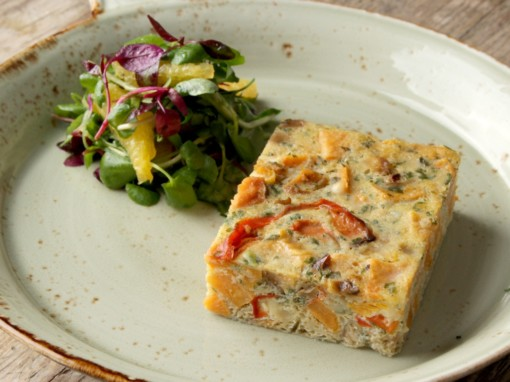 Sweet Potato & Red Pepper Frittata