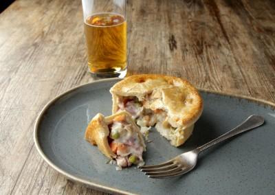 Tom's Pies Ham Hock & Pea