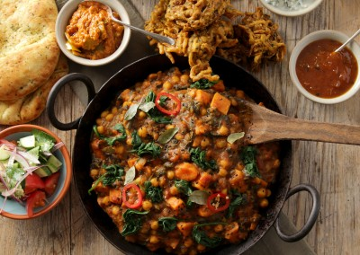 Chickpea & Sweet Potato Curry (VG)